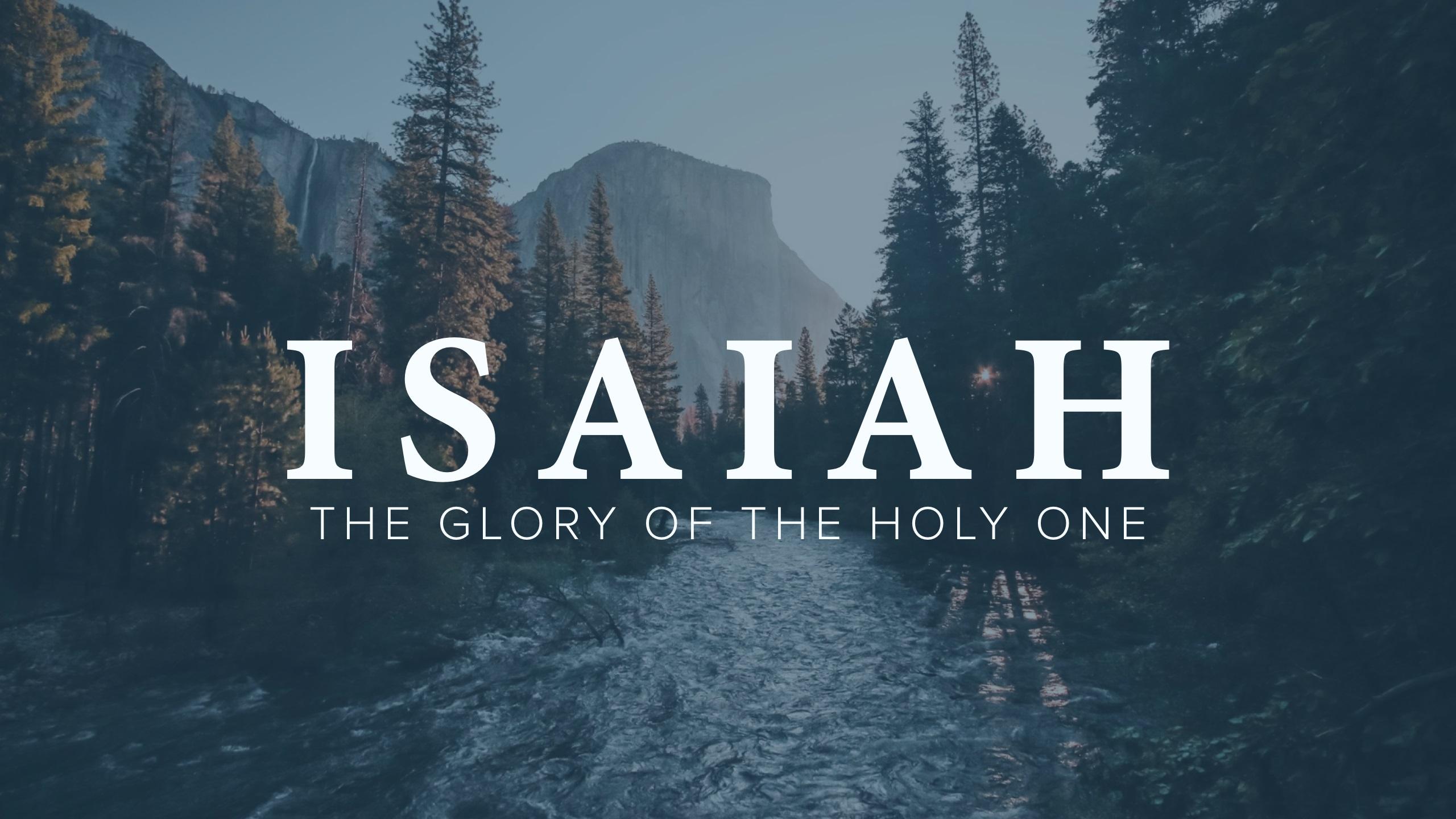Isaiah Sermon Series at Elmira Christian Center