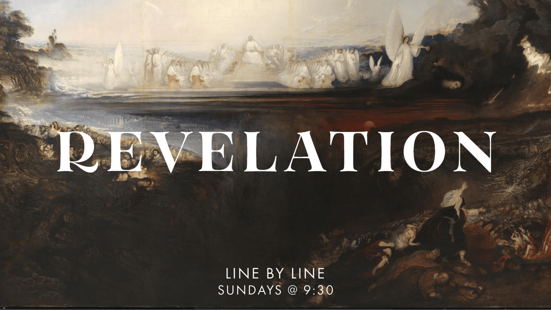 Line by Line - Revelation - ECC